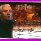 Harry Potter MM Lucius Malfoy Jason Isaacs Auto Card