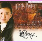 Harry Potter Cho Chang Katie Leung Autograph Auto GoF