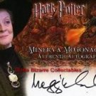 Harry Potter MM Death Eater Olivia Higginbottom Dual Auto and Costume Card DE5