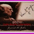 Harry Potter MM2 Moments Griphook Verne Troyer Auto