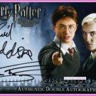 Harry Potter Radcliffe Draco Malfoy Felton Dual Auto