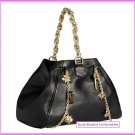 Versace for H&M Black Leather 'Charm' Handbag SOLD OUT New with Tags BNWT