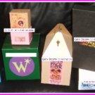 Harry Potter HBP Weasley Wizard Wheezes US Premier Prop Boxes Set of 8