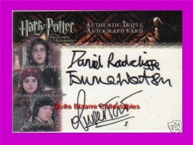 Harry Potter HBP Helen McCrory Narcissa Malfoy Auto