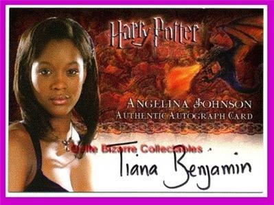 Harry Potter HPB Amycus Carrow Auto Autograph Card New