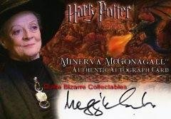 Harry Potter MM Memorable Moments David Bradley Argus Filch Auto Card GoF