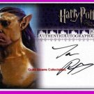 Harry Potter OP OotP Bane Jason Piper Auto Signed Card