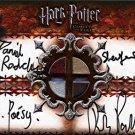 Rita Skeeter Miranda Richardson Auto Autograph Card Harry Potter Goblet Fire GoF
