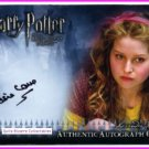 Harry Potter Half-Blood Prince HBP Prince Jessie Cave Lavender Brown Auto New