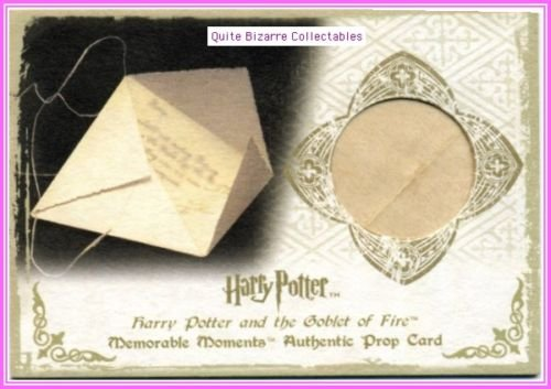 Harry Potter MM Ci3 Letter from Sirius 27/50 Rare Card