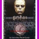 Harry Potter OotP Death Eater Mask Prop Trading Card P7