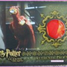 Harry Potter CoS Chamber Secrets P4 Fawkes Feathers Rare Red Variant Prop Card