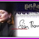 Harry Potter Heroes Villains Quirrell Hart Auto Trading Card Philosopher's Stone