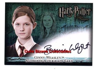 Harry Potter PoA Pansy Parkinson Genevieve Gaunt Auto