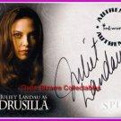 Spike Auto Autograph Juliet Landau Drusilla A2 Buffy