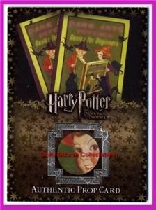 Harry Potter PoA Exploding Bon Bons Card 83/96 V Rare