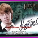 Harry Potter Ron Ronald Weasley Rupert Grint Auto Card