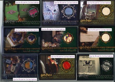 Harry Potter Yule Ball Poster GoF Goblet of Fire Prop Card P3 Low Number Variant