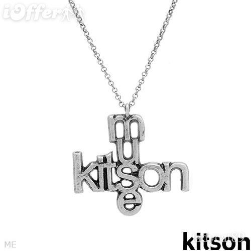 AUTHENTIC DESIGNER KITSON LA MUSE NECKLACE