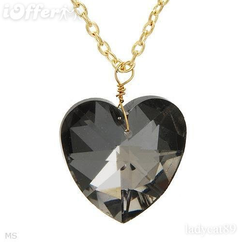 EXQUISITE CRYSTAL HEART NECKLACE