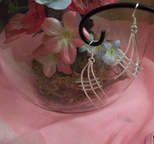 Unique design 925 Silver Earrings