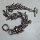 Mens Fancy Dragon Bracelet