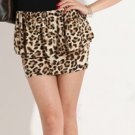 Sexy Leopard Print Strapless MiniDress **Must see**