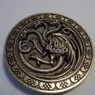 GAME OF THRONES TARGARYEN BELT BUCKLE  NWOT