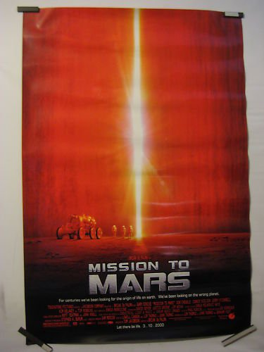Mission To Mars, Original Movie Poster, D/S, SciFi