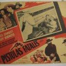 Mexican Vintage Original Lobby Cards 1940's
