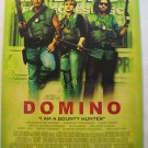 DOMINO,TEASER MOVIE THEATER POSTER