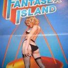 Fantasex Island Adult Pressbook 1984 John Lesli x rated