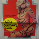 800 Fantasy Lane, Adult Pressbook,Jamie Gillis, 1980