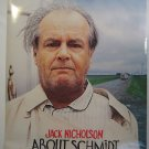 ABOUT SCHMIDT, jack Nicholson, MOVIE THEATER POSTER