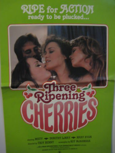 Three Ripening Cherries 1979