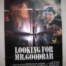 Looking For Mr GoodBar Orig Movie Poster Keaton 1977