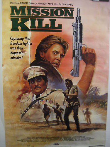 MISSION KILL,DVD MOVIE POSTER,1987