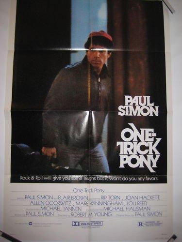 One Trick Pony Orig 1 Sheet Poster Paul Simon 1980