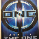 THE ONE,TEASER MOVIE THEATER POSTER, Jet Li