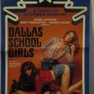 Dallas School Girls, Adult Pressbook,RARE,1981,