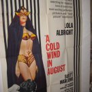 A Cold Wind in August One Sheet Movie Poster FreeShip