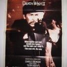 Death Wish 2 Original Theater Poster Charles Bronson