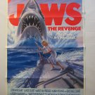Jaws The Revenge, Genuine VHS Movie Poster,1987