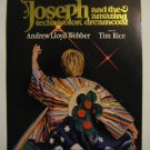 JOSEPH AND THE AMAZING DREAMCOAT WINDOW CARD