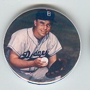 Pee Wee Reese Former Player Brooklyn and LA Dodgers