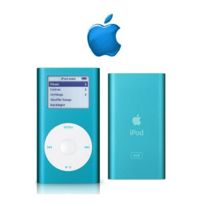 Ipod Mini 6gb Blue - 1,500 Songs In Your Pocket