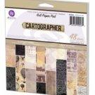 Prima - Cartographer 6x6 Paper Pad