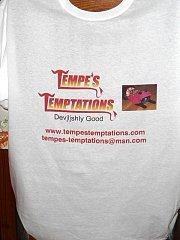 Tempe's Temptations T-Shirt - XL