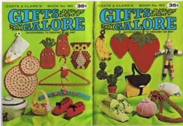 Coats & Clark's GIFTS GALORE Book No. 183