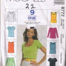 McCalls 8777 MISSES TOP - Size XL (20, 22) - Uncut